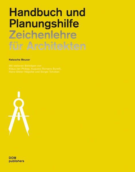 Zeichenlehre für Architekten - Coverbild
