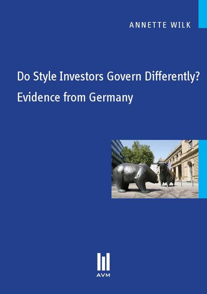 Do Style Investors Govern Differently? Evidence from Germany - Coverbild