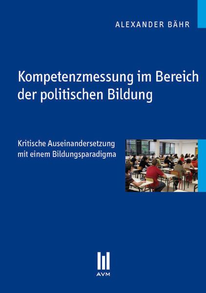 Kompetenzmessung im Bereich der politischen Bildung - Coverbild