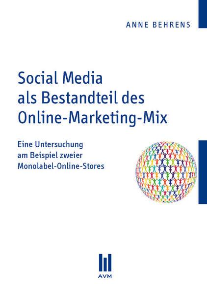 Social Media als Bestandteil des Online-Marketing-Mix - Coverbild