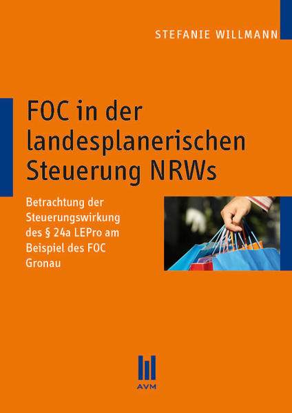 FOC in der landesplanerischen Steuerung NRWs - Coverbild