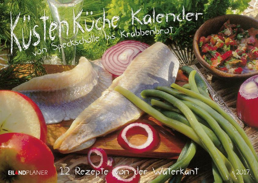 Küsten-Küchen-Kalender 2017 - Coverbild