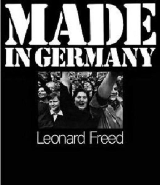 Leonard Freed Made in Germany - Coverbild