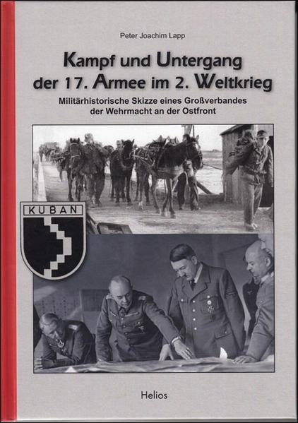 Kampf und Untergang der 17. Armee im 2. Weltkrieg - Coverbild