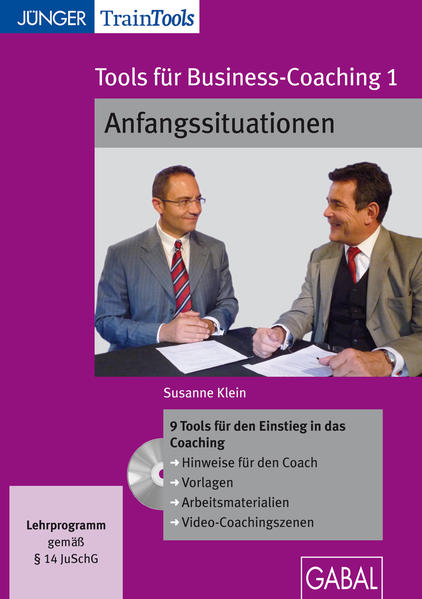 Tools für Business-Coaching 1 - Coverbild