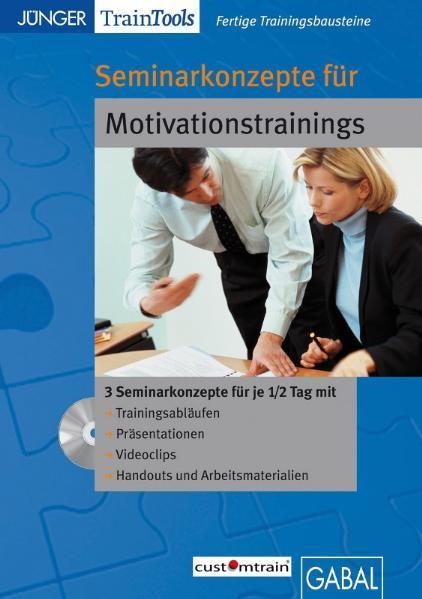 Seminarkonzepte für Motivationstrainings - Coverbild