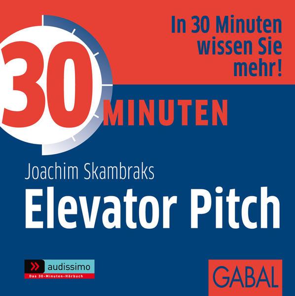 30 Minuten Elevator Pitch - Coverbild