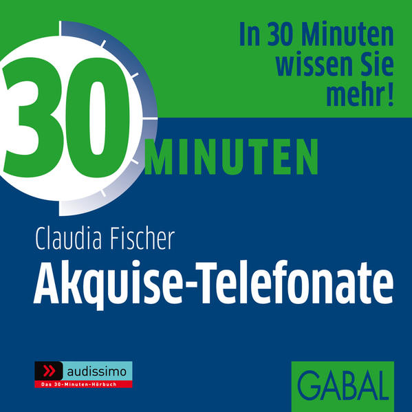 30 Minuten Akquise-Telefonate - Coverbild