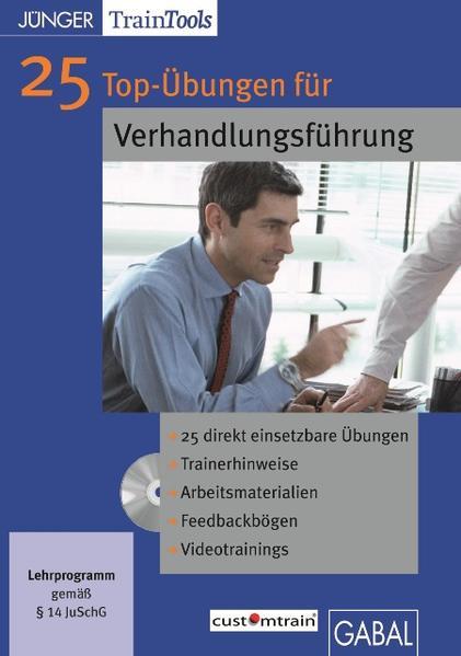 25 Top-Übungen für die Verhandlungsführung - Coverbild