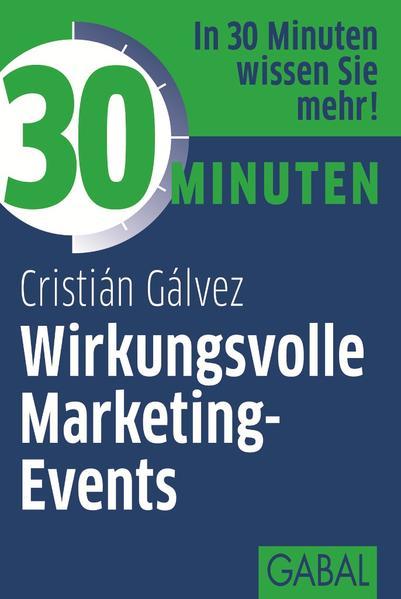 30 Minuten Wirkungsvolle Marketing-Events - Coverbild
