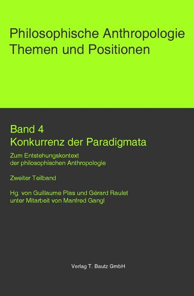 Konkurrenz der Paradigmata. - Coverbild