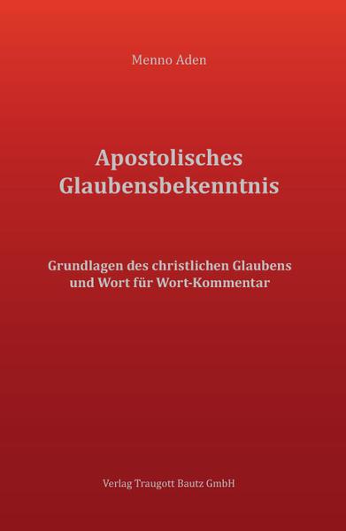 Apostolisches Glaubensbekenntnis - Coverbild