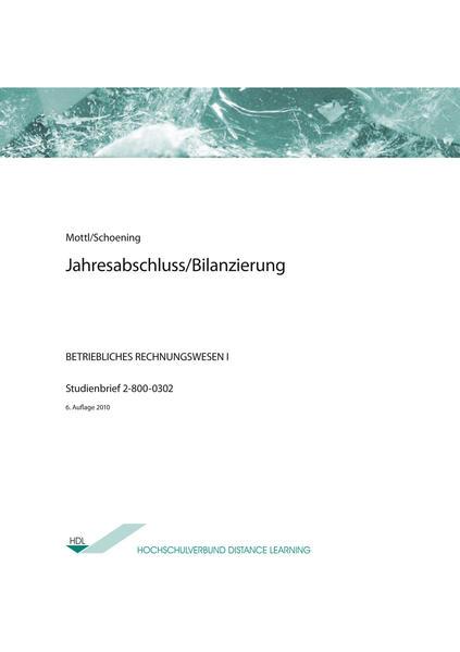 Jahresabschluss/ Bilanzierung - Coverbild
