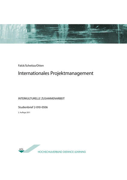 Internationales Projektmanagement - Coverbild