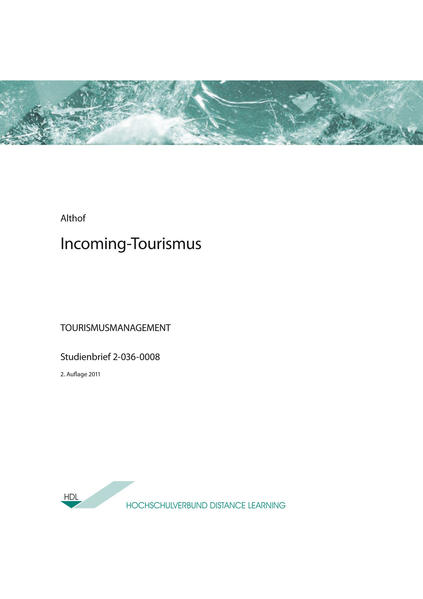 Incoming-Tourismus - Coverbild