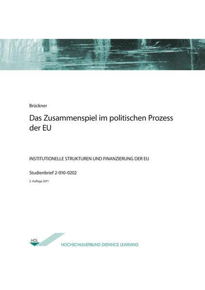 Das Zusammenspiel im politischen Prozess der EU - Coverbild