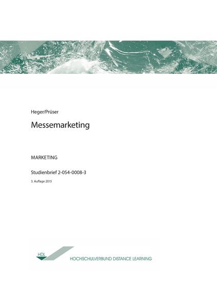 Messemarketing - Coverbild