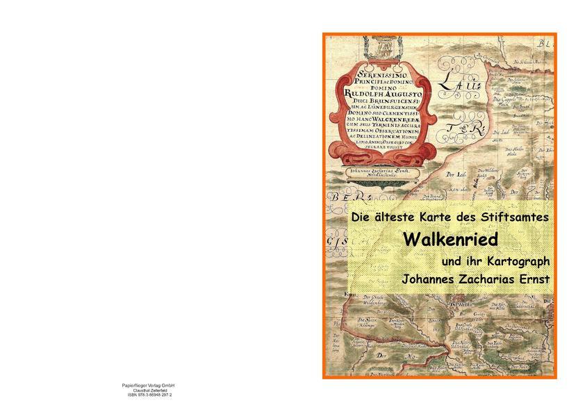 Die älteste Karte des Stiftsamtes Walkenried und ihr Katograph Johannes Zacharias Ernst - Coverbild