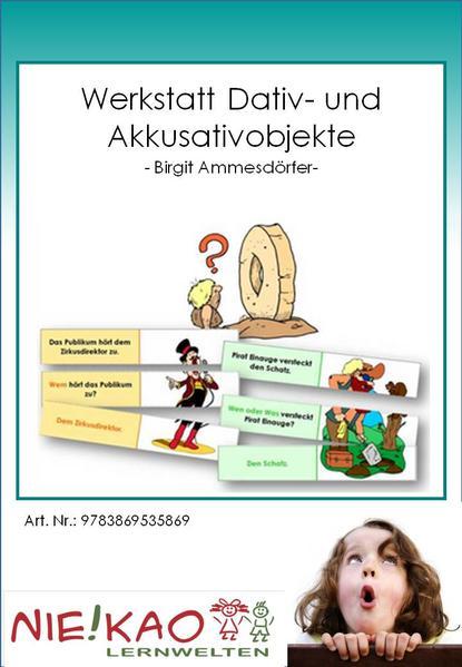 Werkstatt Dativ- und Akkusativobjekte - Coverbild