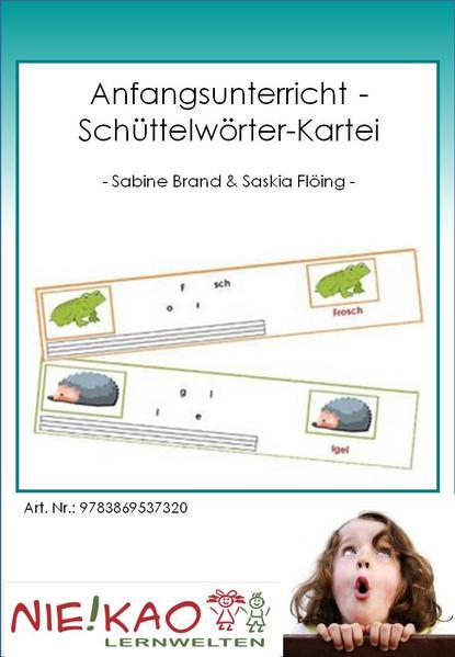 Anfangsunterricht - Schüttelwörter-Kartei - Coverbild