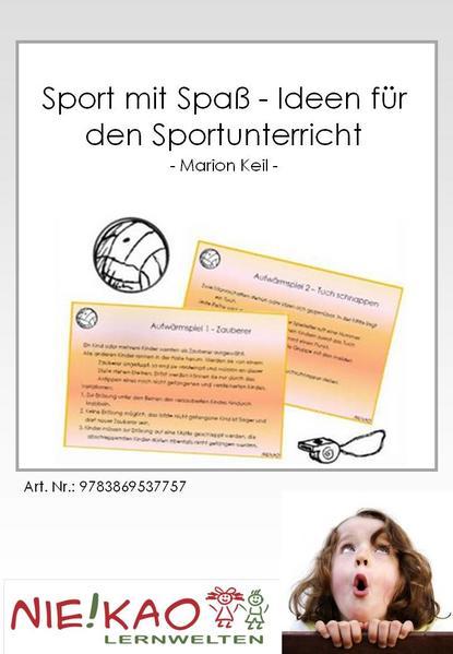 Sport mit Spaß - Ideen für den Sportunterricht - Coverbild