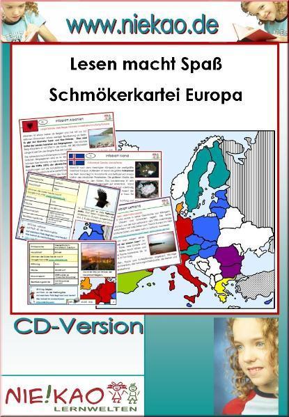 Lesen macht Spaß - Schmökerkartei Europa - Coverbild