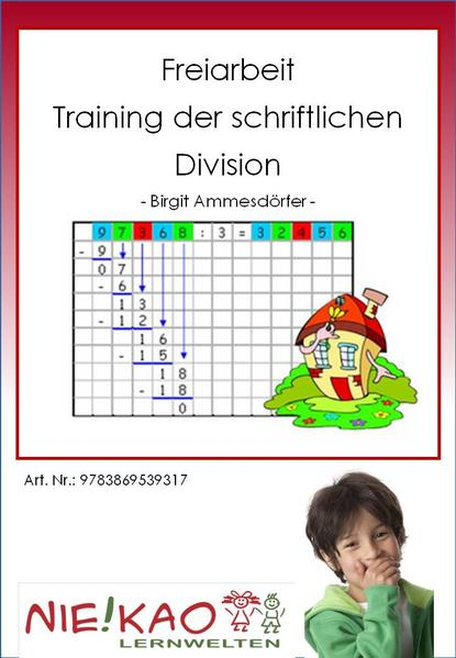 Freiarbeit - Training der schriftlichen Division - Coverbild