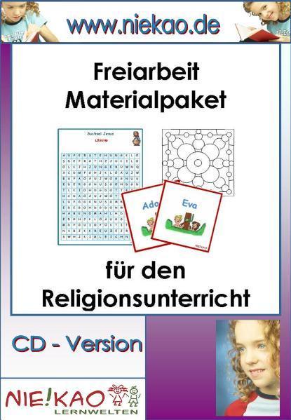 Freiarbeit  Materialpaket für den Religionsunterricht - Coverbild