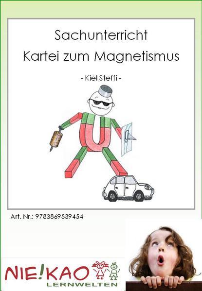 Sachunterricht - Kartei zum Magnetismus - Coverbild