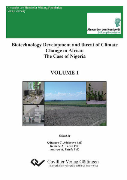 Biotechnology Development and threat of Climate Change in Africa - Coverbild