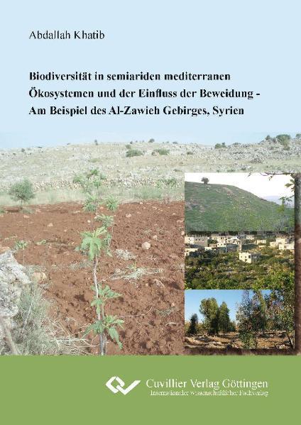 Biodiversität in seiariden mediterranen Ökosystemen und der Einfluss der Beweidung - Coverbild