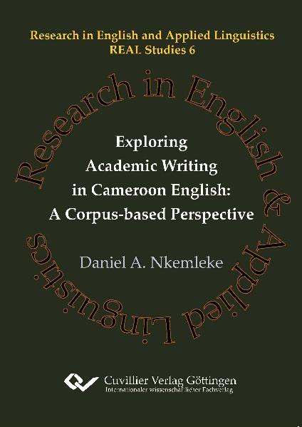 Exploring Academic Writing in Cameroon English: A Corpus-based Perspective - Coverbild