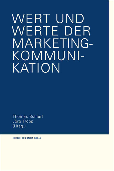 Wert und Werte der Marketing-Kommunikation - Coverbild