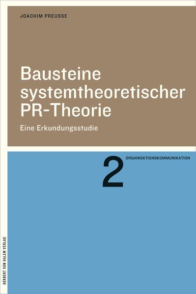 Bausteine systemtheoretischer PR-Theorie FB2 EPUB von Joachim Preusse