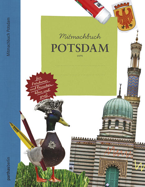 Mitmachbuch Potsdam - Coverbild