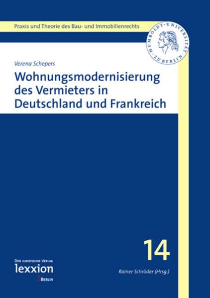 Wohnungsmodernisierung des Vermieters in Deutschland und Frankreich - Coverbild