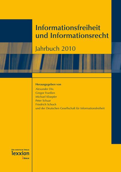 Informationsfreiheit und Informationsrecht Epub Free Herunterladen