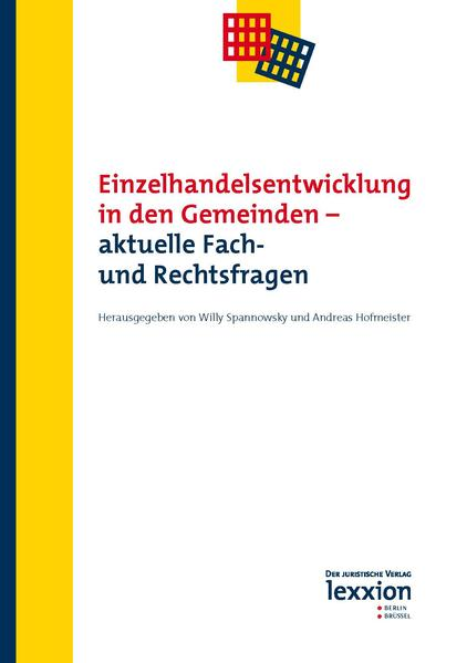 Einzelhandelsentwicklung in den Gemeinden - aktuelle Fach- und Rechtsfragen - Coverbild