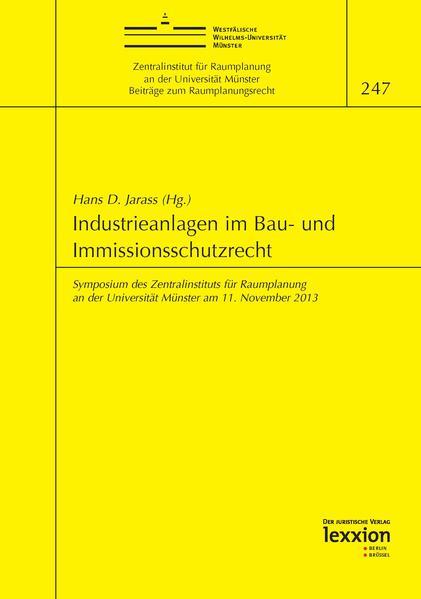 Download Industrieanlagen im Bau- und Immissionsschutzrecht Epub Kostenlos