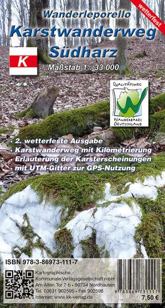 Karstwanderweg Südharz - Coverbild
