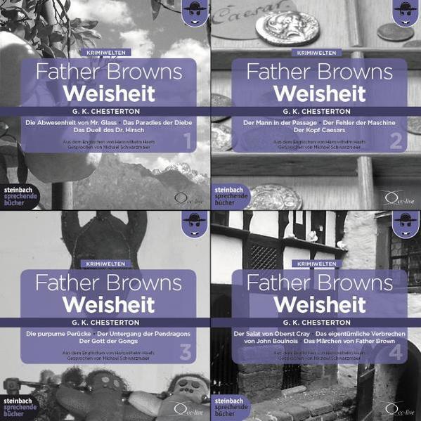 Father Browns Weisheit - Band 2 der Gesamtausgabe - Coverbild