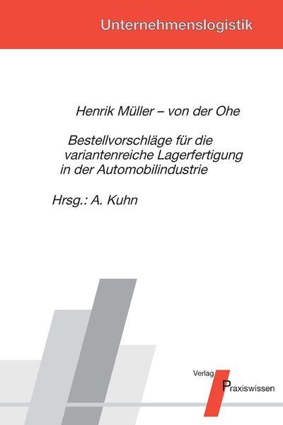 Bestellvorschläge für die variantenreiche Lagerfertigung in der Automobilindustrie  - Coverbild