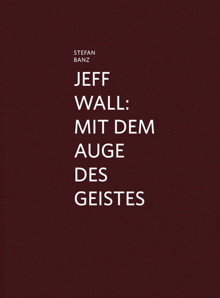 Jeff Wall - Coverbild