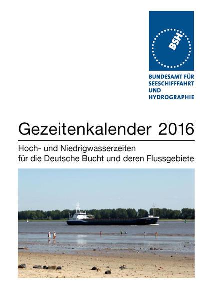 Gezeitenkalender 2016 - Coverbild