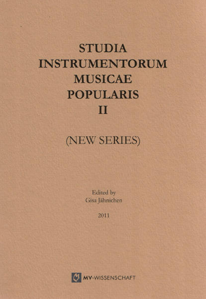 Studia Instrumentorum Musicae Popularis II (New Series) - Coverbild