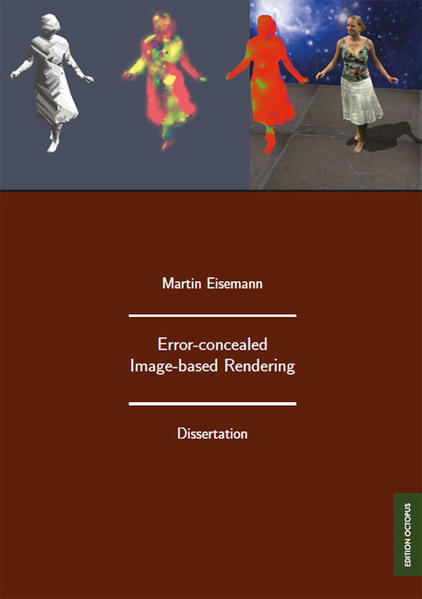Error-concealed Image-based Rendering - Coverbild