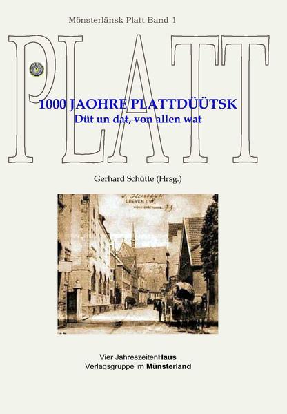 1000 Jaohre Plattdüütsk - Coverbild
