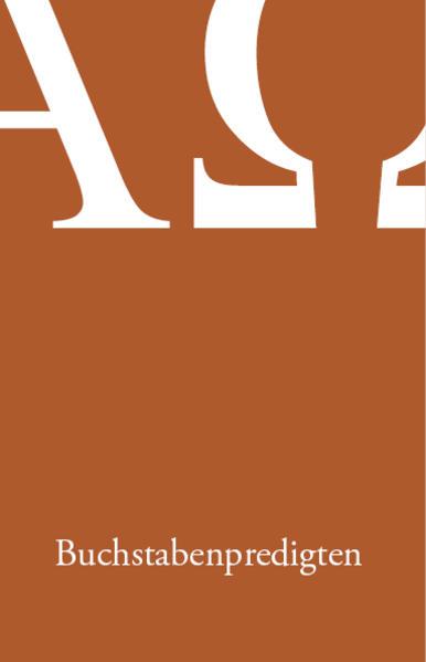 Buchstabenpredigten - Coverbild