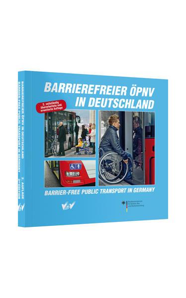 Barrierefreier ÖPNV in Deutschland /Barrier-free Public Transport in Germany - Coverbild