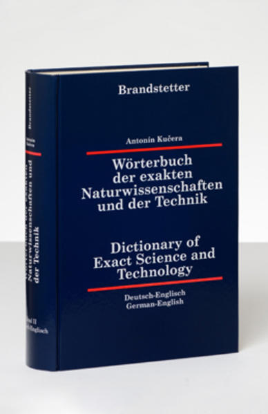 Wörterbuch der exakten Naturwissenschaften und der Technik /Dictionary... / Wörterbuch der exakten Naturwissenschaften und der Technik /Dictionary... - Coverbild